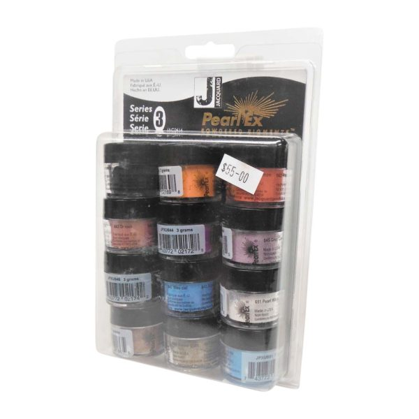 Pearl Ex Powdered Pigment 12 Multipack