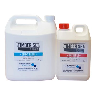 Timber Set Epoxy Resin & Hardener Kit